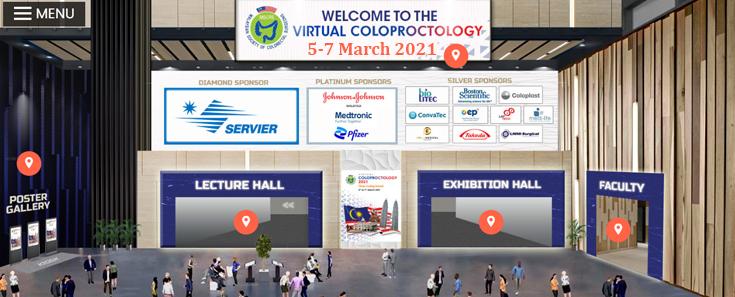 Virtual Coloproctology 2021